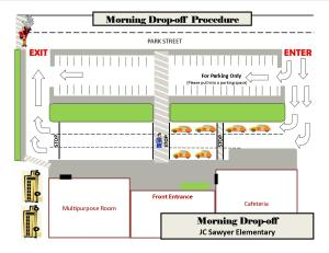 JCS dropoff map